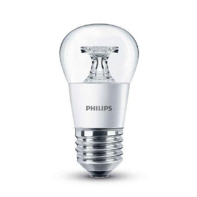 Philips E27 4W 827 LED-Tropfenlampe, klar