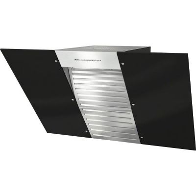 Miele  DA6096W Black Wing Wand-Dunstabzugshaube 90cm Edelstahl/Schwarz