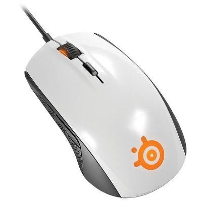 SteelSeries Rival 100 optische Gaming Maus weiß 62335