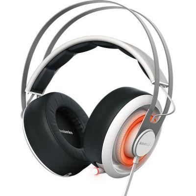 SteelSeries Siberia 650 kabelgebundenes USB Gaming Headset weiß 51192
