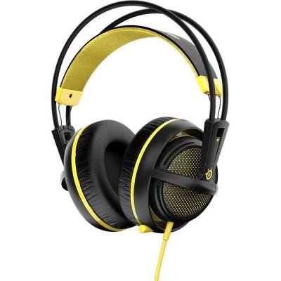 SteelSeries Siberia 200 kabelgebundenes Gaming Headset gelb 51138