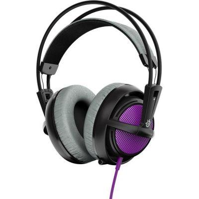 SteelSeries Siberia 200 kabelgebundenes Gaming Headset lila 51136