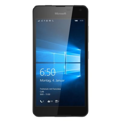 Microsoft . Lumia 650 LTE schwarz Windows 10 mobile Smartphone