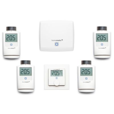 Homematic IP  Heizungs Set L Access Point Wandthermostat Heizkörperthermostat