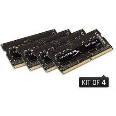 HyperX 32GB (4x8GB)  Impact DDR4-2400 CL15 SO-DIMM RAM Kit
