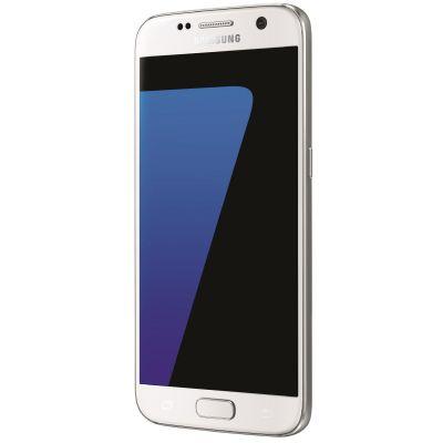Samsung GALAXY S7 white-pearl G930F 32 GB Android Smartphone - Preisvergleich