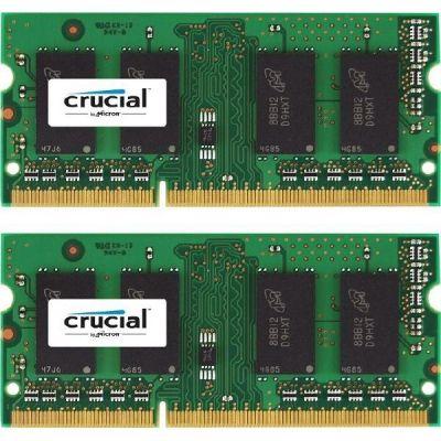 Crucial 16GB (2x8GB)  DDR3L-1600 CL 11 SO-DIMM RAM Speicher Kit