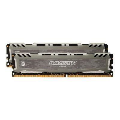 Ballistix 32GB (2x16GB)  Sport LT DDR4-2400 CL16 (16-16-16) RAM Kit
