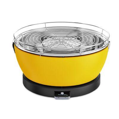 Feuerdesign VESUVIO 14052 Holzkohle-Tischgrill mit Grillzange gelb - Preisvergleich