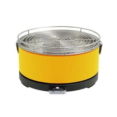 Feuerdesign MAYON 14012 Holzkohle-Tischgrill mit Grillzange gelb - Preisvergleich