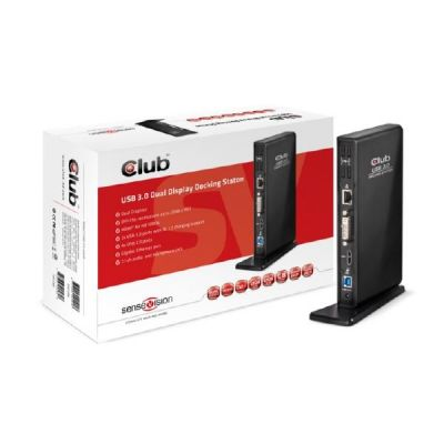 Club3d Club 3D Dual Display Docking Station USB3.0 CSV-3242HD