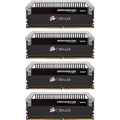 Corsair 16GB (4x4GB)  Dominator Platinum DDR4-3000 CL15 (15-17-17-35) DIMM-Kit