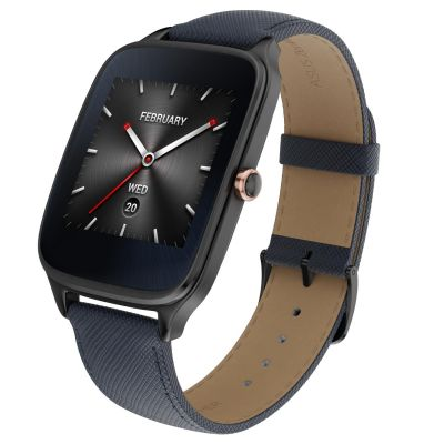 Asus ASUS ZenWatch 2 Edelstahl 4,14cm 1,63 Zoll Lederarmband taupe/gold