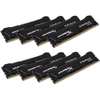 HyperX 128GB (8x16GB)  Savage DDR4-2666 CL15 RAM - Kit