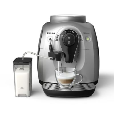 Philips HD8652/51 Kaffeevollautomat silber schwarz