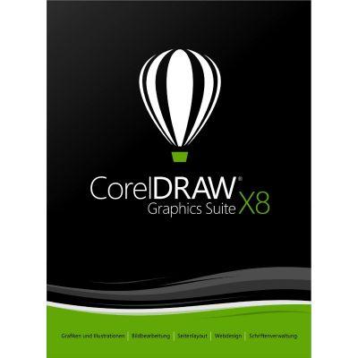 Corel DRAW Graphics Suite X8 EN - DVD