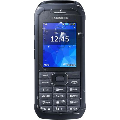 Samsung Xcover 550 dark-silver, Outdoor-Mobiltelefon AT-Ware