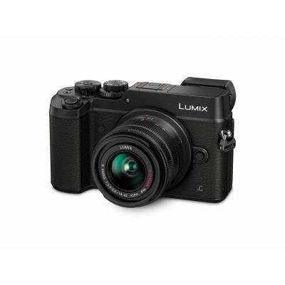 Lumix DMC-GX8 Kit 12-60 mm f/3.5-5.6 Systemkamera schwarz