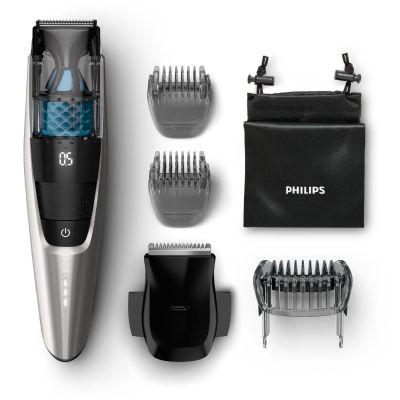 Philips BT7220/15 Series 7000 Vakuum-Bartschneider schwarz/silber - Preisvergleich