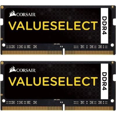 Corsair 8GB (2x4GB)  Value Select DDR4-2133 MHz CL 15 SODIMM Notebookspeicher
