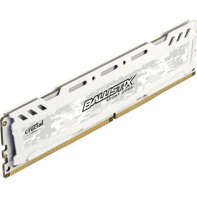 Ballistix 16GB  Sport LT DDR4-2400 Weiß CL16 (16-16-16) RAM Speicher