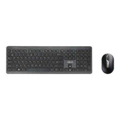 Asus ASUS W2000 kabellose Tastatur mit Maus schwarz 90XB005S-BKM010