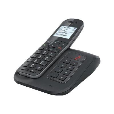 Telekom Sinus A 206 Comfort schnurloses Festnetztelefon mit AB, anthrazit - Preisvergleich