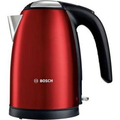 Bosch TWK7804 Edelstahl Wasserkocher 1,7l rot - Preisvergleich
