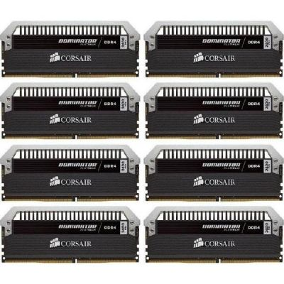 Corsair 128GB (8x16GB)  Dominator Platinum DDR4-2400 CL14 (14-16-16-31) DIMM-Kit