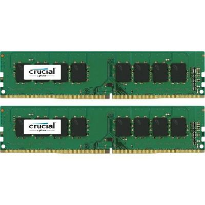 Crucial 16GB (2x8GB)  DDR4-2133 CL15 (15-15-15) UDIMM RAM - Kit