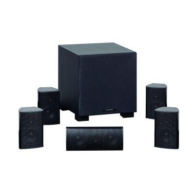 ALUMA 2200 5.1 Surround-System schwarz eloxiert