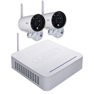 ABUS  Digitales Funk-Überwachungsset (2x Außenkameras, 1x Funkrekorder)