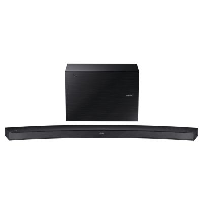 Samsung  HW-J6500R 2.1 Curved Soundbar 300W schwarz Wireless Sub WLAN BT DLNA