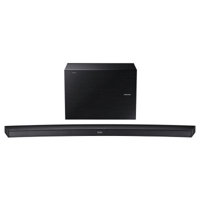 Samsung  HW-J7500R 4.1 Curved Soundbar 320W schwarz Wireless Sub WLAN BT DLNA