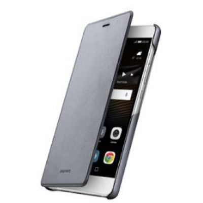 Huawei Flip Cover für P9 lite, grau - Preisvergleich