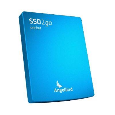 Angelbird  SSD2go pocket 512GB externe SSD USB 3.0 2.5 Zoll SATA600 blau