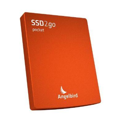 Angelbird  SSD2go pocket 256GB externe SSD USB 3.0 2.5 Zoll SATA600 rot