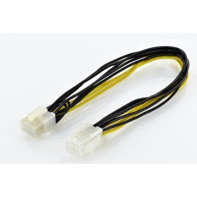 ASSMANN Assmann PCIe Adapterkabel 8-pin auf 6-pin ST/BU 0,3m AK-430103-003-M