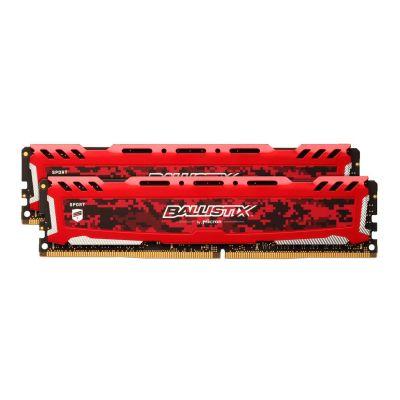 Ballistix 32GB (2x16GB)  Sport LT DDR4-2400 Rot CL16 (16-16-16) RAM