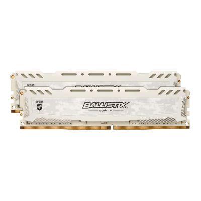 Ballistix 32GB (2x16GB)  Sport LT DDR4-2400 Weiss CL16 (16-16-16) RAM