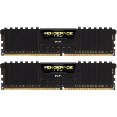 Corsair 16GB (2x8GB)  Vengeance LPX Black DDR4-3000 RAM CL15 (15-17-17-35)