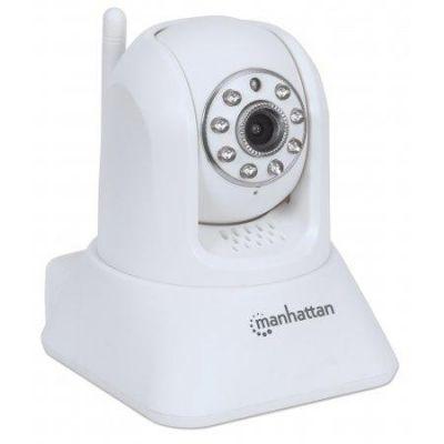 Manhattan HomeCam HD Überwachungskamera 720p mit Nachtsichtmodus