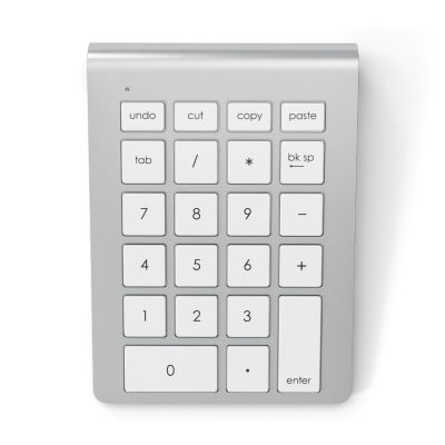 Satechi Aluminum Wireless Keypad Silber