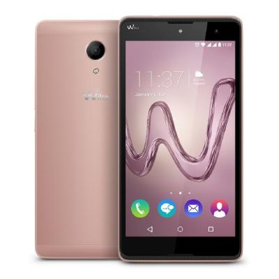 Wiko Robby Dual-SIM rose gold Android Smartphone