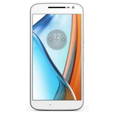 Moto G4 weiß Android™ 6.0 Smartphone