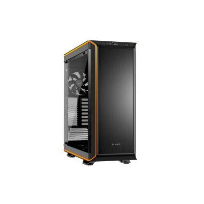 be quiet ! Dark Base Pro 900 Midi-Tower orange / schwarz mit Fenster und Qi-Ladestation im Deckel