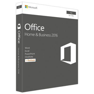 Microsoft Office 2016 Home  und  Business Mac PKC (P2) - Preisvergleich