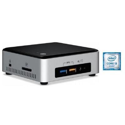 Intel Hyrican NUC 5175 -PC i3-6100U 4GB/120GB SSD Intel HD 520 WLAN ohne Windows
