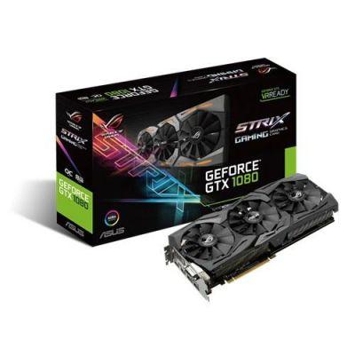 Asus ROG Strix GTX 1080 OC 8GB GDDR5X Grafikkarte 2xDP/2xHDMI/DVI - Preisvergleich