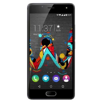 Wiko U Feel Dual-SIM space-grau Android Smartphone
